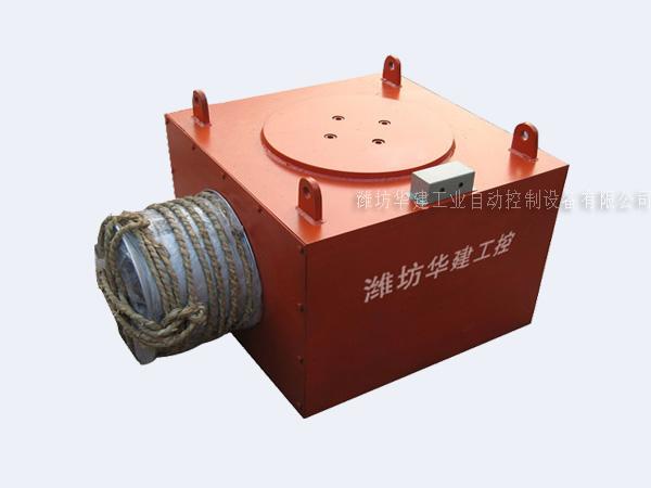 悬挂式电磁除铁器